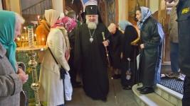 Встреча архиепископа Арсения. 28 сентября 2011г.
