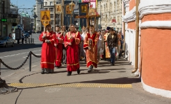 День Всех святых, в земле Российской просиявших - 17 июня 2012 года