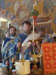 Светлая седмица-богослужение в день празднования иконы Божией Матери Живоносный Источник