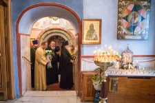 Встреча архиепископа Арсения. 28 сентября 2013г.