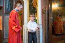 Детская Литургия на отдание Пасхи 28 мая 2014 года