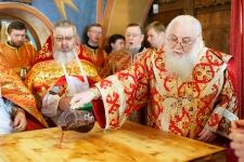 Великое освящение Никольского придела 30.04.2017 года