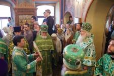 Престольный праздник: служение Митрополита Истринского Арсения