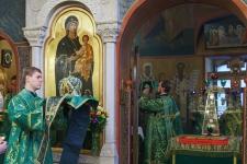 Престольный праздник 29.09.2017: архиерейское служение