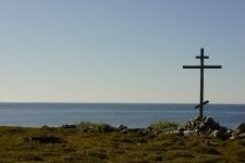 Соловки. Заяцкие острова. Поклонный крест