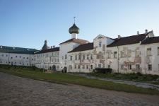 Соловки. Надвратная Церковь Благовещения Пресвятой Богородицы