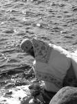 Соловки. Молебен у Святого озера. Освящение воды. Наместник монастыря архимандрит Порфирий