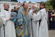 25 августа 2013, крестный ход, епископ Штутгартский Агапит