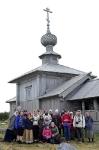 У храма св. ап. Андрея