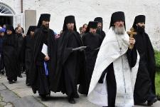 Крестный ход в Преображенском монастыре