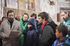 У мощей прп. Елеазара в Свято-Троицком храме