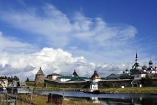Преображенский монастырь на Б. Соловецком о-ве