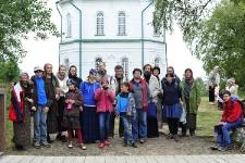У храма-маяка на Секирной горе