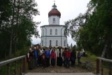 Свято-Вознесенский храм-маяк на Секирной горе