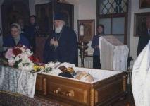 2004, отпевание В.В.Быкова