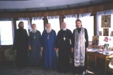 1995. в паломничестве по Волге