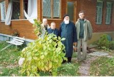 на даче - с М.В.Зубовой, М.Т.Кулаковой, В.Кудряшовым
