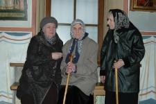сёстры - слева направо, Зинаида, Серафима, Мария