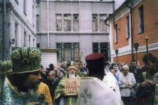 Перенесение мощей-служба, 2003