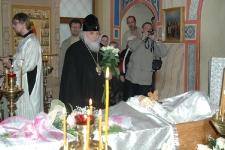 Митрополит Арсений 1.05.2009, прощание с о. Александром