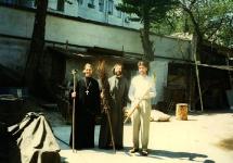 о. Владимир Федянин, о. Николай Чернышев, Игорь Мурашкин.